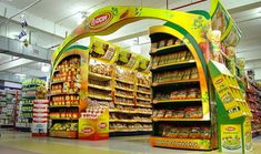 visual merchandising supermarket - Google Search