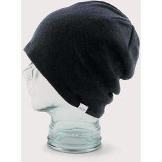 Coal Beanies Coal Fields Oversized Cotton Beanie Hat - Black ( 48) ❤ liked  on e29d35b5844