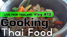 Cooking Thai food in Thailand is the ideal situation to be in. Pad nam man hoi moo or stir fried pork in oyster sauce and vegetables. #thaifood #thailand #amazingthailand