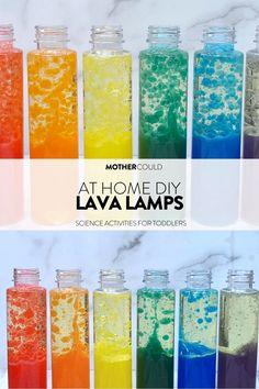 LAVA LAMP DIY FOR KIDS