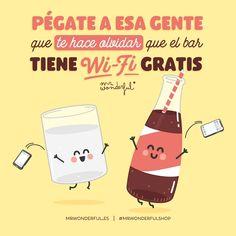 ¿Quién es esa persona que hace que te olvides hasta de que el móvil existe? #mrwonderfulshop #quotes Cute Quotes, Sad Quotes, Qoutes, Hj Story, Movie Subtitles, Courage Quotes, Funny Phrases, Spanish Humor, Its A Wonderful Life