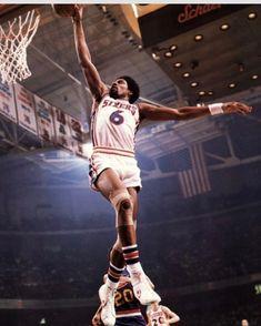This poster is available at ThePosterProvider.com #drj #juliuserving #sixers #basketball #76ers #philidelphia #philly #slamdunk #nba #sports #poster #posters #sportsposters #dormroom #dorm #dormlife #blackhistorymonth #blackhistory #vintage #classic #ThePosterProvider.com