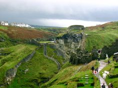 Tintagel, Cornwall, England......A magical place.