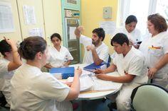 La consegna degli infermieri al cambio turno