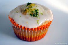 Triple-Citrus Cupcakes | foxeslovelemons.com
