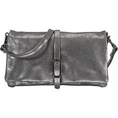 L. Credi Clutch & Abendtaschen Handtasche silber