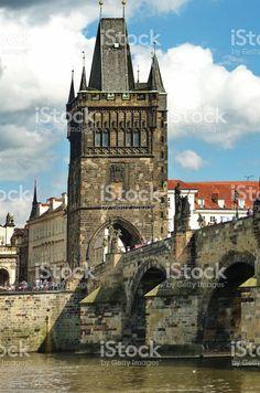 Powder Tower in Prague royalty-free stock photo