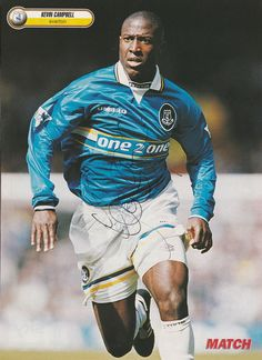 KEVIN CAMPBELL EVERTON 1998-2005 Original Hand Signed Magazine Cutting - £6.50. KEVIN CAMPBELL EVERTON 1998 - 2005 145 LEAGUE APPEARANCES, 45 LEAGUE GOALS ORIGINAL HAND SIGNED MAGAZINE CUTTING SIGNATURE ON CUTTING IS VERY GOOD (PLEASE NOTE THAT WE ALWAYS OFFER A FULL REFUND IF YOU ARE NOT HAPPY WITH YOUR PURCHASE)Kevin Campbell Everton 1998-2005. This Cutting has come from our Collection. Kevin has Hand Signed in Black Ink and it was signed at the time. A Very Good Prominent Signature which look Kevin Campbell, David Seaman, Brazil Logo, Mike Newell, Magazine Pictures, Nottingham Forest, Everton Fc, London Clubs
