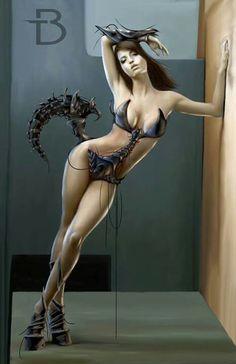 Dark art: Scorpion chic