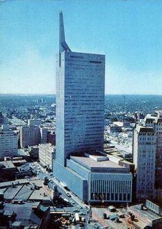 Republic National Bank Tower, Dallas, Texas.