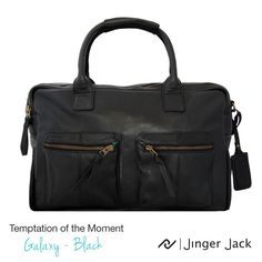 Leather Laptop Bag, Leather Satchel, Laptop Bag For Women, Briefcase, Travel Bags, In This Moment, Black, Products, Leather Laptop Messenger Bag