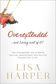 In each of these vignettes illustrating Lisa's overextended life, we learn that even in the middle of our own pure motives and hectic schedules, it is only by resting in God's sovereign mercy that we are able to keep risking our hearts to serve his people and fulfill the callings he has placed on us.