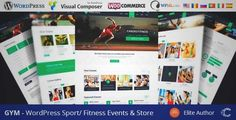 Download and review of GYM - Sport Fitness Bootstrap Responsive Theme, one of the best Themeforest Multipurpose themes