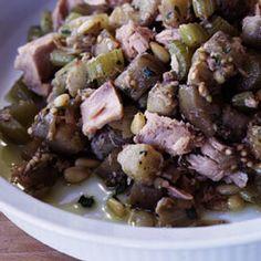 Sicilian Eggplant and Tuna Salad Recipe - Saveur.com   #food52 #saveur #summerfoodfights