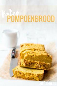 Paleo Pompoenbrood - Glutenvrij, lactosevrij, suikervrij - EetPaleo.nl