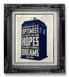 Tardis DOCTOR WHO Art Tardis Print - Dr Who TRADIS Poster - Dr Who Geekery, Dr Who Print, Sherlock Doctor Who Poster Wall Art Decor Artwork