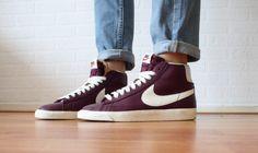 Burgundy Nike
