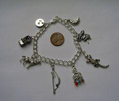 Redesigned Teen Wolf Charm Bracelet by GreatBigBagOTrinkets