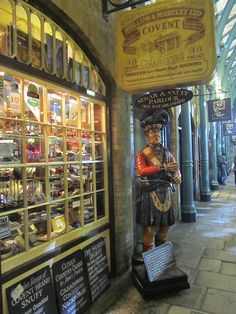 Old pipe shop, Covent Garden,London