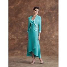 Montage Style - 17948 Size 6 Ice Blue Mother of the Bride Gown ...