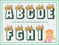 http://delicadocantinho.blogspot.com.br/2016/03/grafico-ponto-cruz-ursinho-rei-monograma.html