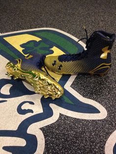 New 2014 Under Armour cleats #GoIrish