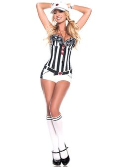 Sexy Love Referee costume #Halloween #Ideas #Sports