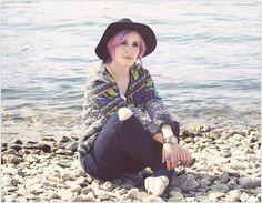 Aztec Bolero, Billabong Jacket, Ripped Jeans, Fall Style, Fall Fashion, Blogger Looks
