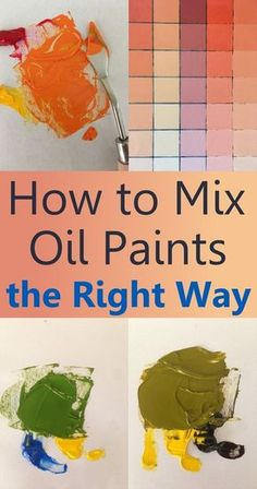 to mix oil paints, what are pigments and which to use. Beginners guide for color mixing for oil painting.How to mix oil paints, what are pigments and which to use. Beginners guide for color mixing for oil painting. Oil Painting Lessons, Oil Painting For Beginners, Oil Painting Techniques, Oil Painting Tutorials, Painting With Oils, Painting Classes, Art Techniques, Art Tutorials, Oil Painting Abstract