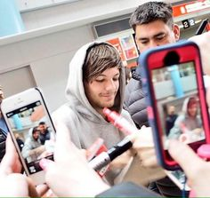 Louis arriving in Japan
