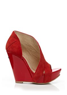 CNC COSTUME NATIONAL Open-Toe Wedge Sandal