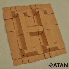 Cartoon folded type. White paper font. 3d origami letters and ... | 236x236