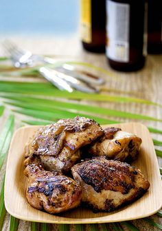Ginger, soy and whiskey grilled chicken. Grilled Chicken Recipes (PHOTOS)