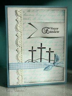 Heartfelt Creations   Oval Lilies Card