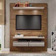 Painel Delta Mdf E Mdp Ideal Para Tv De Até 42 Polegadas Ca - R$ 193,03