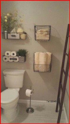 Bathroom Storage Solutions, Small Bathroom Storage, Bathroom Organisation, Diy Organization, Small Storage, Decorating Small Bathrooms, Storage For Small Bedrooms, Small House Storage Ideas, Small Bathroom Ideas