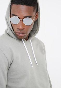 Round mirrored frames-LM61251-Rose /silver mirror basicthread Eyewear | Superbalist.com