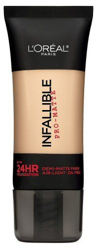 L'Oreal Infallible Pro-Matte 24HR Foundation: rated 3.9 out of 5 on MakeupAlley. See 50 member reviews, product ingredients and photo.