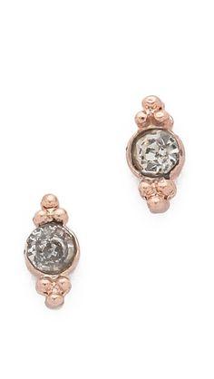 mini ballerina stud earrings / shashi