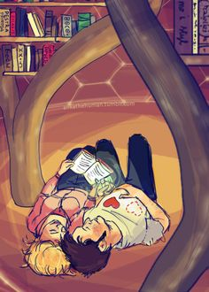 Rose and Ten - This is so adorable I almost squealed in the middle of the library.