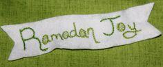 Ramadan Joy Embroidery