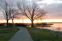 Battery Park, Historic New Castle, Delaware