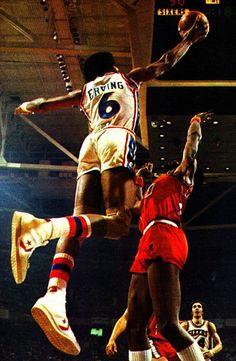 Julius Erving, Philadelphia 76ers.