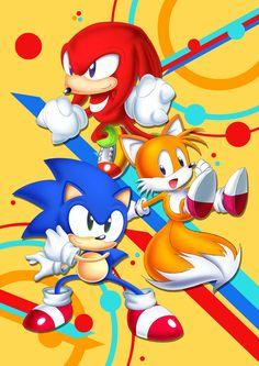 Sonic Mania Iphone Wallpaper