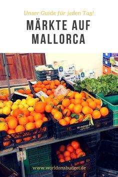 Unsere sechs liebsten Märkte auf Mallorca! Nirgends kann man das Leben auf der Balearen Insel so authentisch erleben. In unserem Reiseführer ist für jeden Tag ein anderer Markt auf der Insel dabei. Vom klassischen Viehmarkt bis zum hippen Streetfood Markt: Mallorca hat in Sachen Märkte einiges in petto.