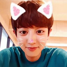 Aww cute Catyeol~ >< ✨