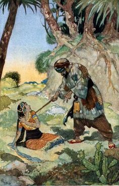 The Enchanted Horse - The Arabian Nights published by Blackie & Sons Limited (London) in 1930