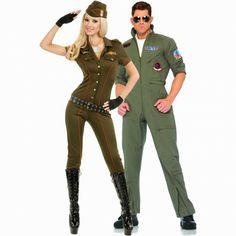 Aviator partner costume for Halloween