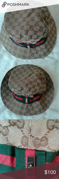 GUCCI web bucket hat unisex Brand new never used Original web bucket hat GUCCI Accessories Hats