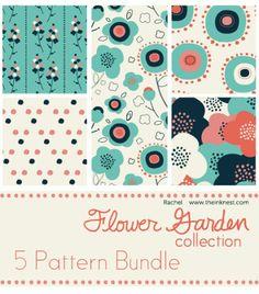 Flower Garden Patterns. Design PatternsPrint PatternsPhotoshop TipsPattern  ... Design Ideas